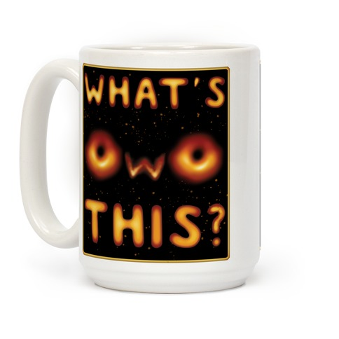 OwO Black Hole Coffee Mug