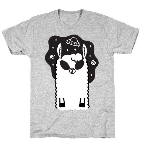 Allien - Llama Alien T-Shirt