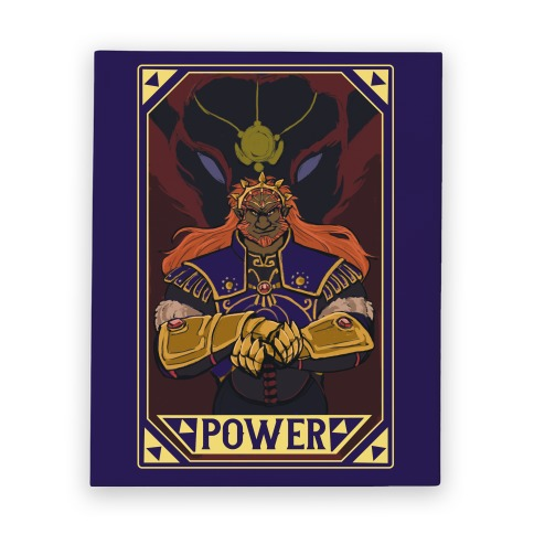 Power - Ganondorf Canvas Print