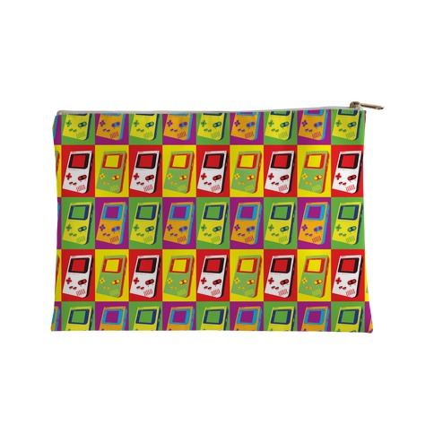 Gameboy Pop Art Pattern Accessory Bag