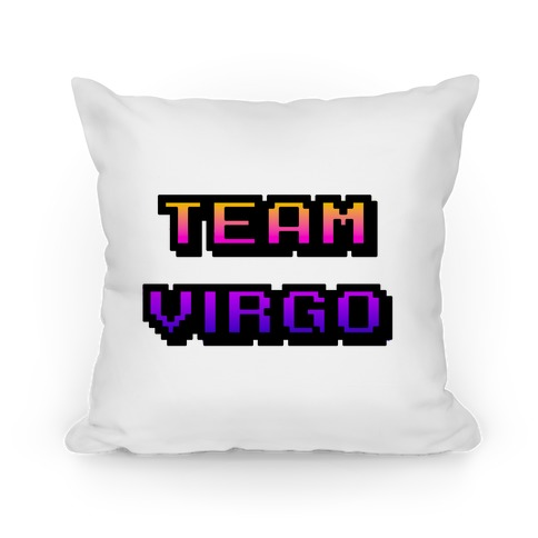 Pixel Team Virgo Pillow