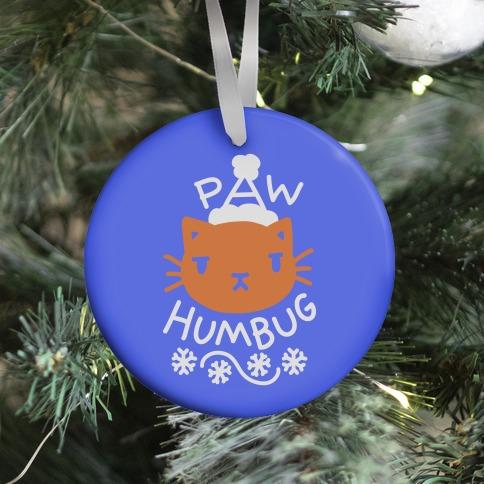 Paw Humbug Cat Ornament