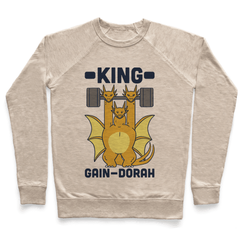 King Gain-dorah - King Ghidorah Pullover