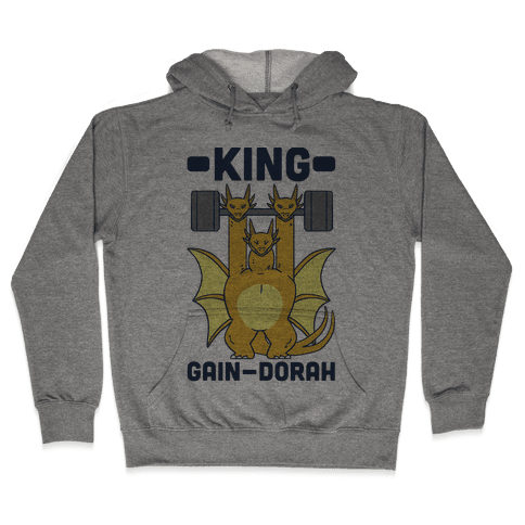 King Gain-dorah - King Ghidorah Hooded Sweatshirt