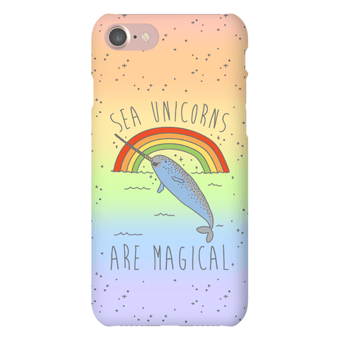 Sea Unicorns Are Magical  Phone Case