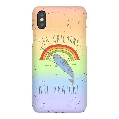 Sea Unicorns Are Magical Phone Case