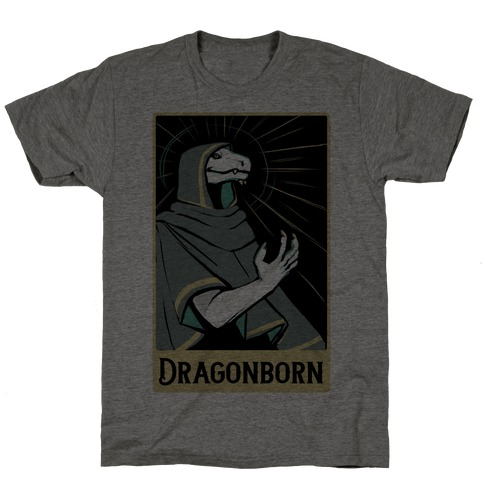 Dragonborn - Dungeons and Dragons T-Shirt