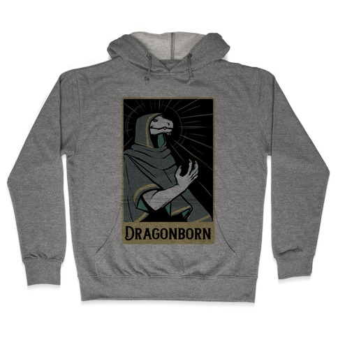 Dragonborn - Dungeons and Dragons Hooded Sweatshirt