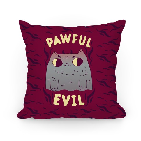 Pawful Evil Pillow