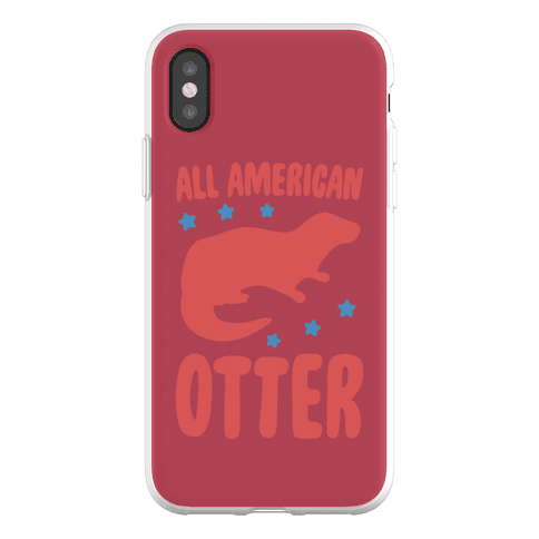 All American Otter Phone Flexi-Case