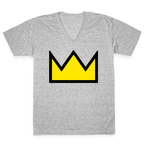 Betty's Crown Sweater V-Neck Tee Shirt