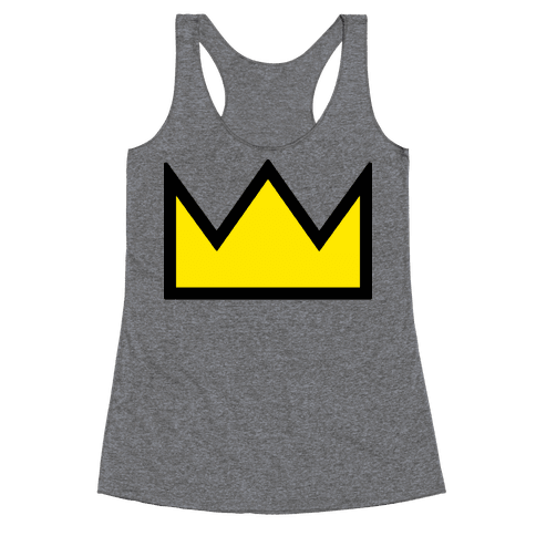 Betty's Crown Sweater Racerback Tank Top