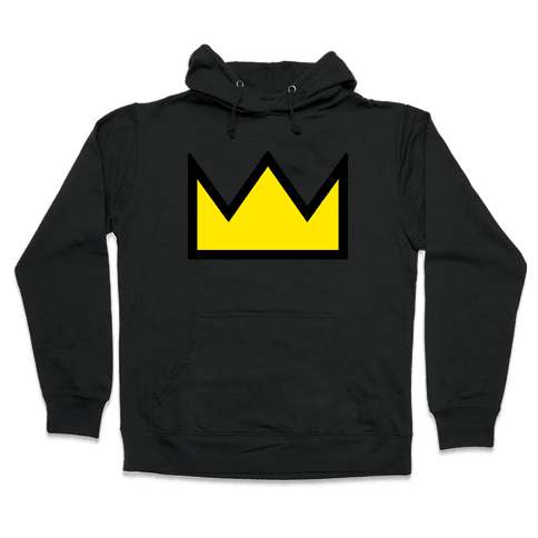 Betty's Crown Sweater Hooded Sweatshirt