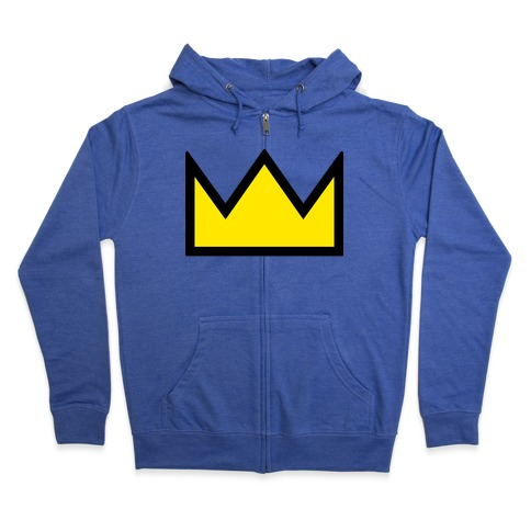 Betty's Crown Sweater Zip Hoodie
