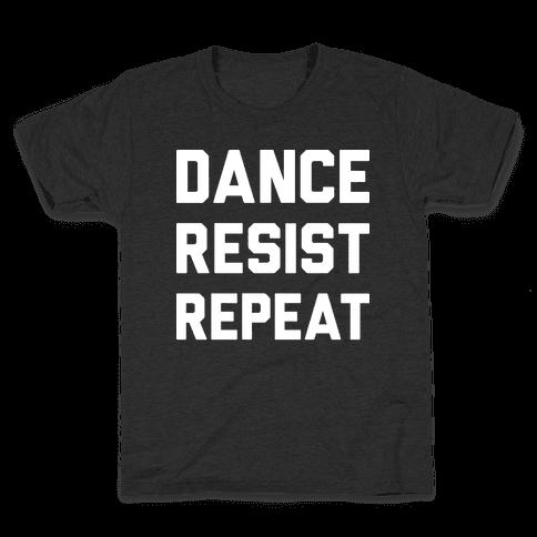 Dance Resist Repeat Kids T-Shirt