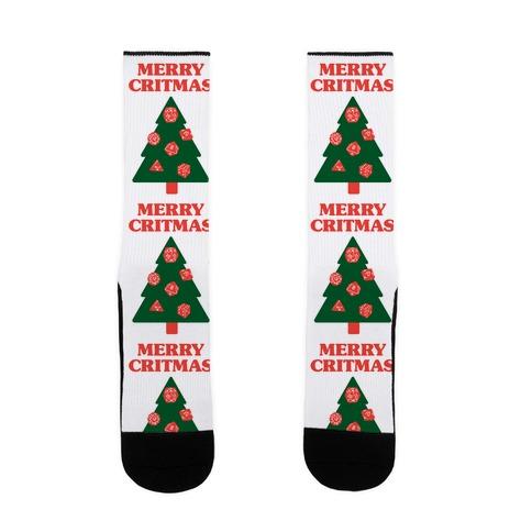Merry Critmas Sock