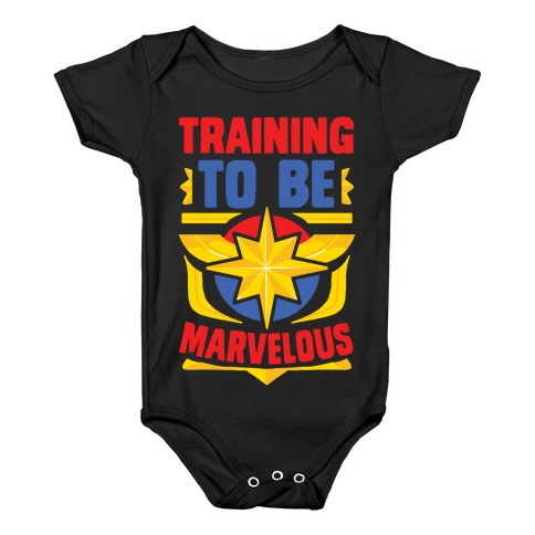 Traning to be Marvelous Baby Onesy
