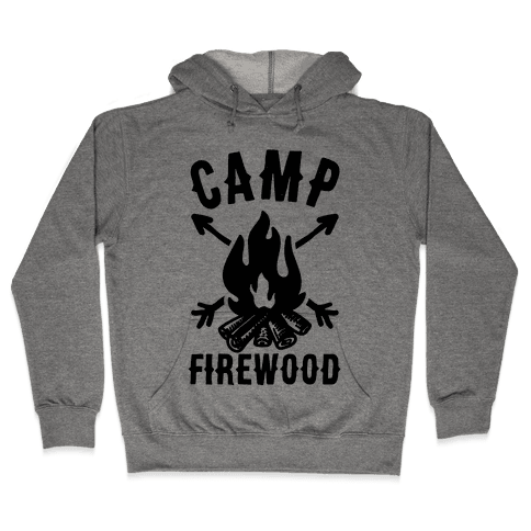Camp Firewood Hooded Sweatshirt