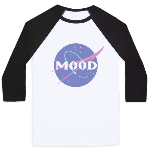 MOOD NASA Parody Baseball Tee
