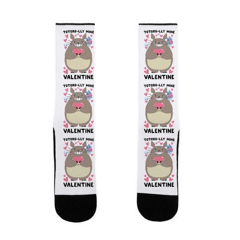 Totoro-lly Mine, Valentine Sock