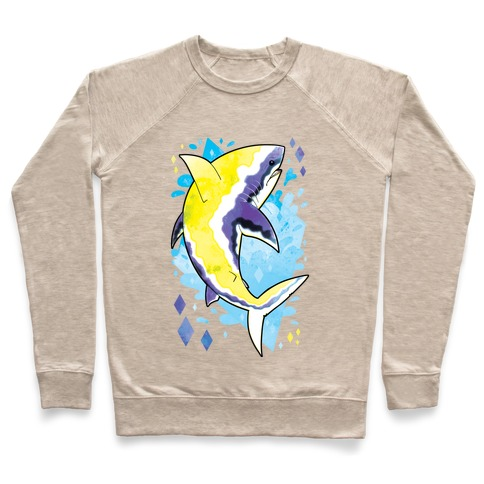 Pride Sharks: Non-binary Pullover