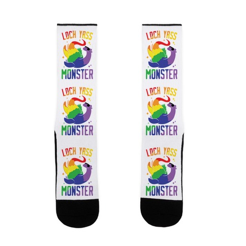 Loch Yass Monster Sock