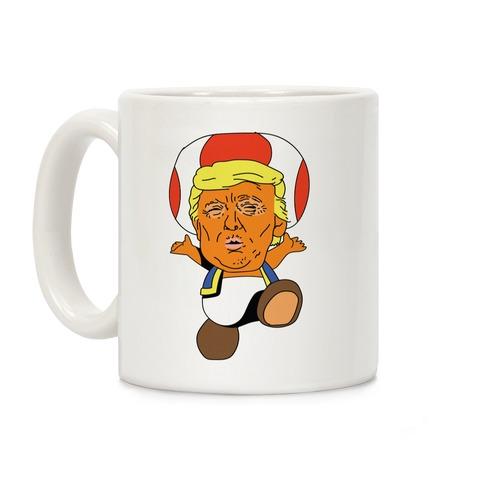 Donald Trump Toad Mushroom Coffee Mug