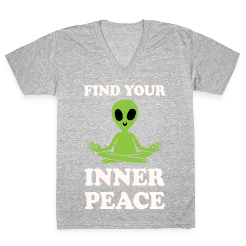 Find Your Inner Peace V-Neck Tee Shirt