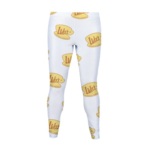 Luke's Diner Logo Patter Women's Legging