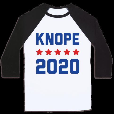 Knope 2020 Baseball Tee