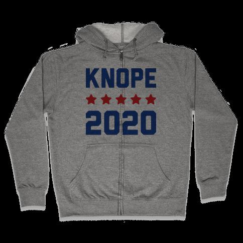 Knope 2020 Zip Hoodie