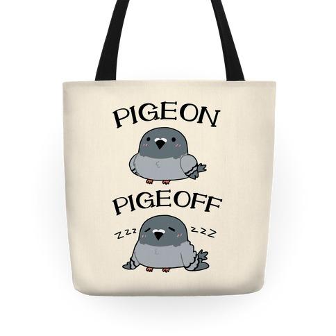 Pigeon Pigeoff Tote