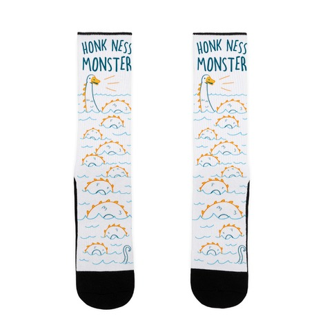 Honk Ness Monster Sock