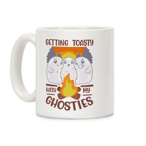 Getting Toasty With My Ghosties Coffee Mug