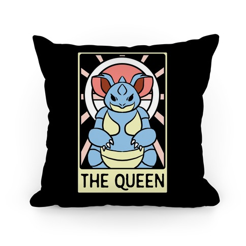 The Queen - Nidoqueen Pillow