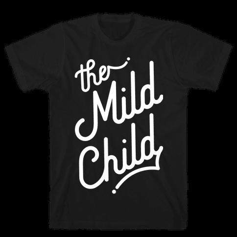 The Mild Child White Mens T-Shirt