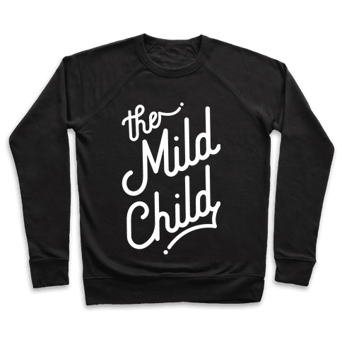 The Mild Child White Pullover