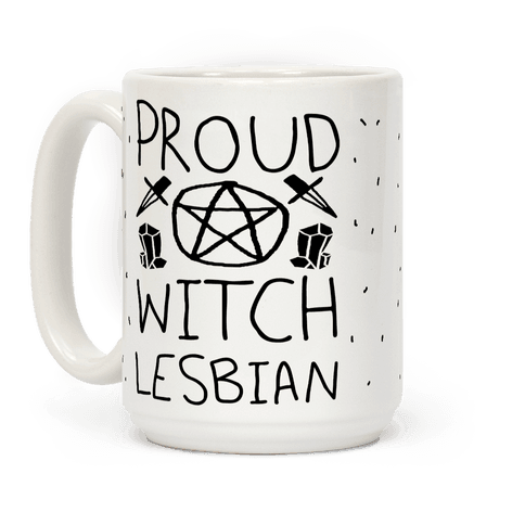 Proud Witch Lesbian Coffee Mug