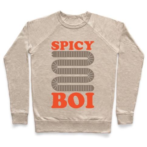 Spicy Boi Worm Parody Pullover
