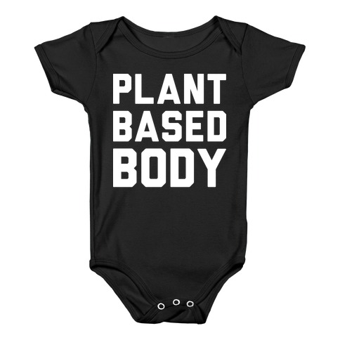 Plant Based Body Baby Onesy