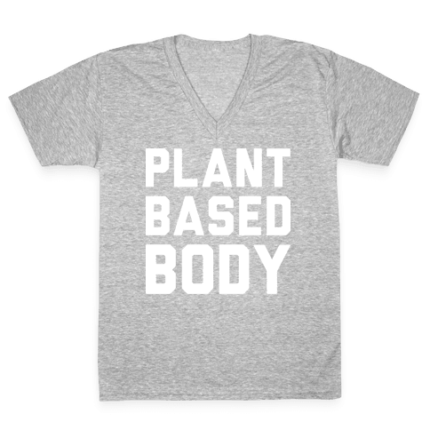 Plant Based Body V-Neck Tee Shirt