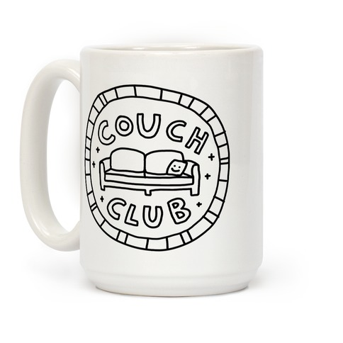 Couch Club Membership Badge Coffee Mug