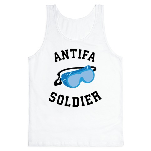 Antifa Soldier Tank Top