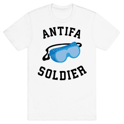 Antifa Soldier T-Shirt