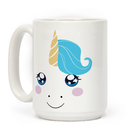 Unicorn Face Coffee Mug