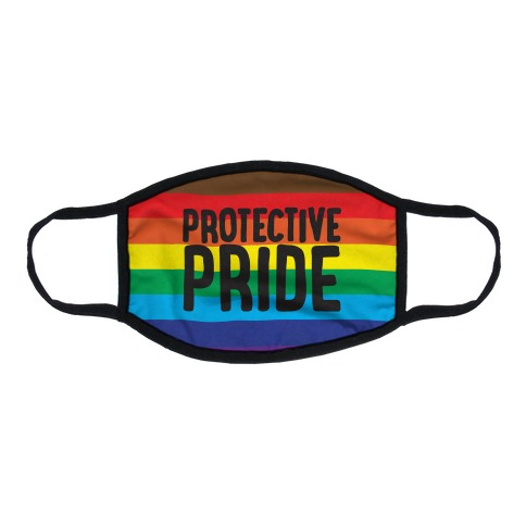 Protective Pride Flat Face Mask