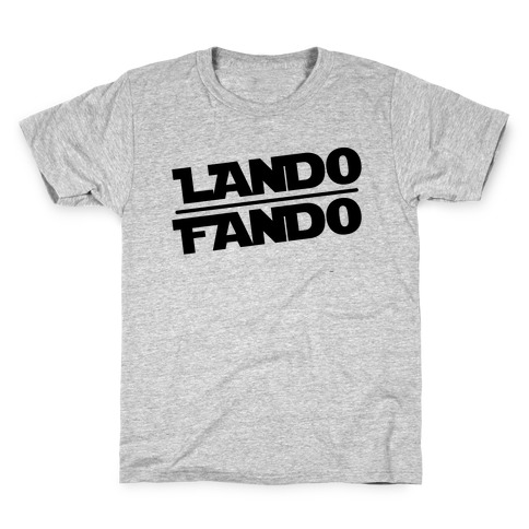 Lando Fando Parody Kids T-Shirt