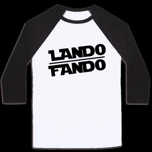 Lando Fando Parody Baseball Tee