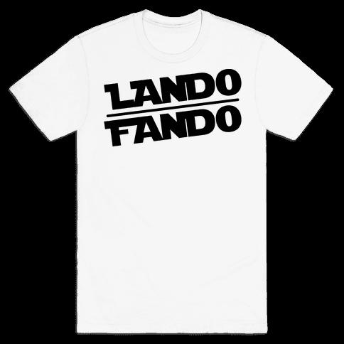 Lando Fando Parody Mens T-Shirt