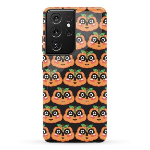 Scared Pumpkin Pattern Phone Case
